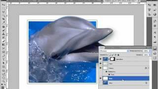 Эффект объемного фото (выход из фотографии)(Создаем эффект объемного фото (частичный выход из фотографии)., 2011-08-29T18:02:05.000Z)