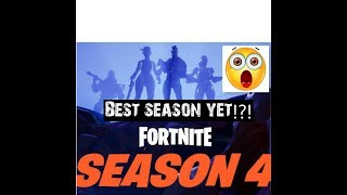 SEASON 4 MOST INTENSE SEASON YET +ANTIGRAVITY GEMS!? SEASON SKINS!!! Fortnite