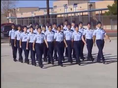 30 Step Drill Sequence AFJROTC