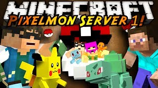 minecraft pixelmon server the series begins