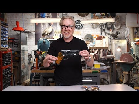Adam Savage's New $30 Blade Runner Blaster