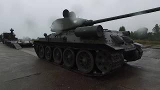 Inside the T-34/85 Tank
