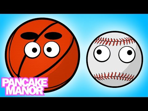 Sports Balls Song for Kids | Pancake Manor