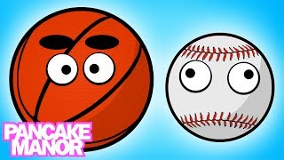 SPORTS BALLS (Song For Kids ♫) Pancake Manor