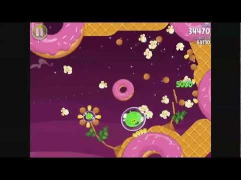 Angry Birds Space - Bonus Level S-8 - Walkthrough 3 Stars