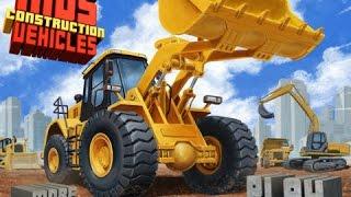 Kids Construction Vehicles - Bulldozer, Excavator, Trucks, Cranes - Best Ipad App Demo For Kids