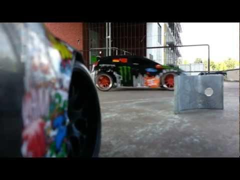 My RC CRASH / FAIL Compilation Part 1 Watch!!! ( Traxxas Rally / Ken Block Gymkhana Fiesta )