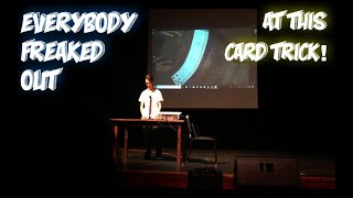 I Amazed My Entire School With A Card Trick. BEST REACTIONS!!