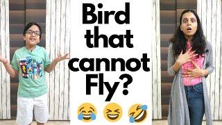 Bird that Cannot Fly   Brother Sister Prank   भाई बहन की नोंक झोंक    Shiv And Harshu Show