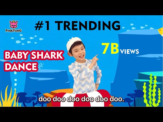 🔥 [TRENDING] Baby Shark Dance | Kids Shark Video Song | 🔥 Baby Beautiful Song