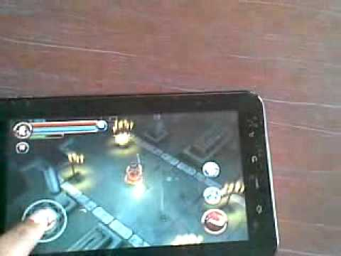 HD GAME DUNGEON HUNTER IN MERCURY MTAB NEO.flv
