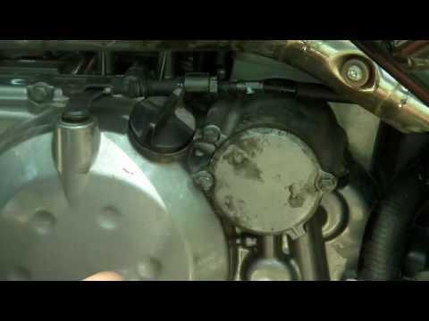 2008 kawasaki klr 650 review how not to re-attach oil filter cap