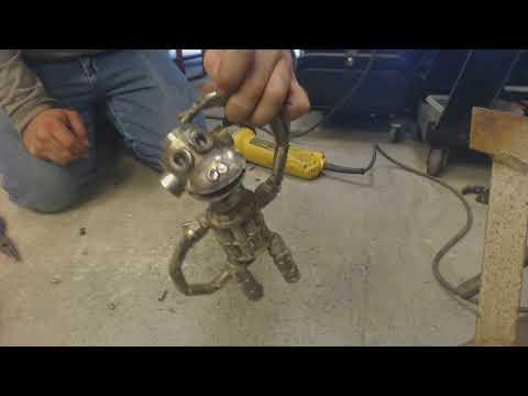 Monkey Business Scrap Metal Art Sculpture - Imajawnation