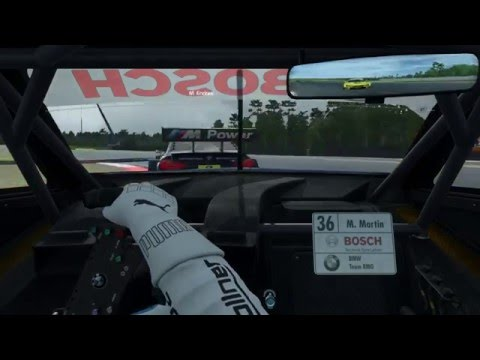 DTM Winter Cup Semifinal 2 onboard | catching up from P17 to P9 after a spin