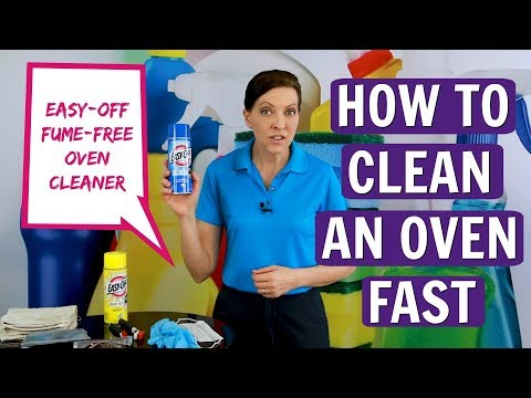 How to Clean an Oven FAST with Easy-Off Fume Free Oven Cleaner (Product Review)