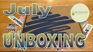 Magical Graphite! | July '20 Scrawlrbox Unboxing