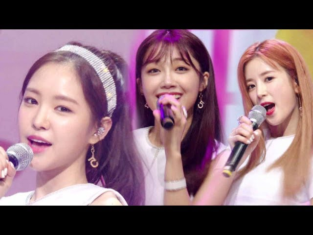 《EXCITING》 Apink (에이핑크) - FIVE @인기가요 Inkigayo 20170716