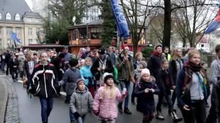 Das Friedenslicht ist in Oldenburg angekommen