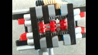 lego 6 speed gearbox with build instructions