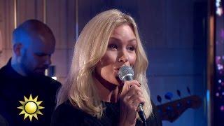 """""""En stilla väntan"""" – Magnus Carlsson och Jessica Andersson - Nyhetsmorgon (TV4)"""