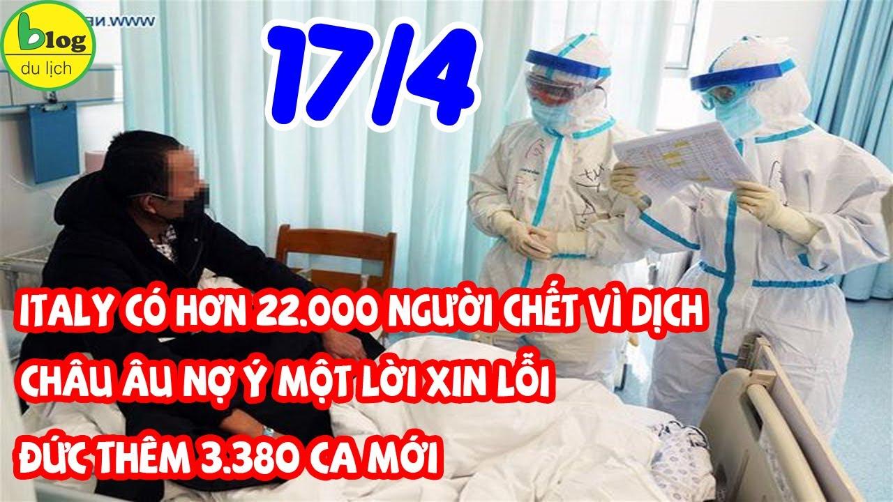 Dịch Covid-19 hôm nay 17/4: Toàn cầu có 2.192.459 ca nhiễm Virus Corona, 147.360 người chết vì dịch