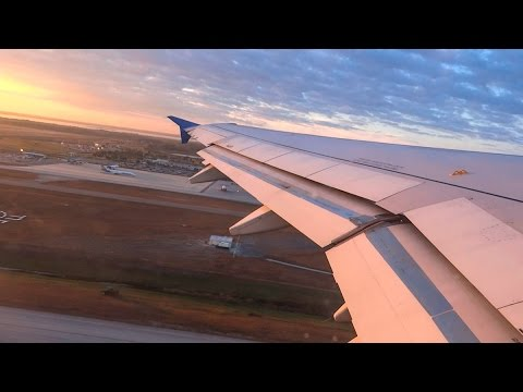Allegiant Air A320 stunning early morning takeoff from Orlando Sanford!