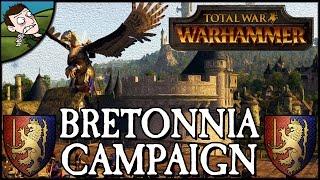 Total War WARHAMMER - Bretonnia Campaign Gameplay Mod