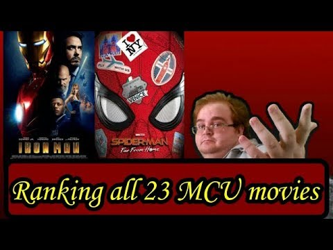 Ranking All 23 MCU Movies!!