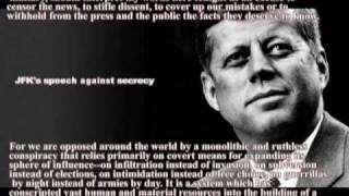 John F. Kennedy's most memorable speech's highlights+transcript/subtitles thumbnail