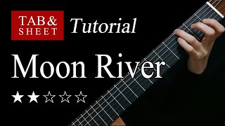 Download lagu Moon River - Fingerstyle Lesson + TAB