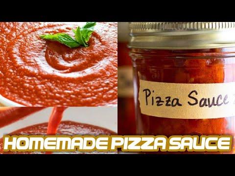 Homemade Pizza Sauce Recipe With Fresh Tomatoes | Easy Recipe | Tasty Recipe