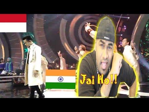 FILDAN - Jai Ho | DA Asia 3 Indonesia | INDIAN REACTION | Aalu Fries