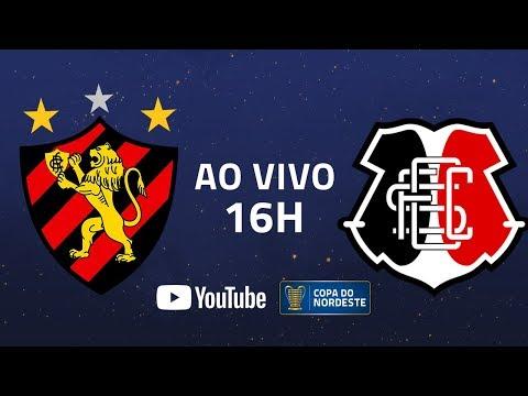 AO VIVO: Sport x Santa Cruz | 6ª rodada | Copa do Nordeste 2020