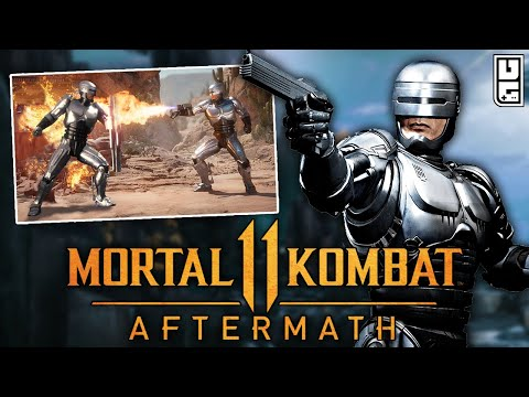 Mortal Kombat 11: Aftermath - FIRST Look at Robocop In-Game, & Character Breakdown!! |