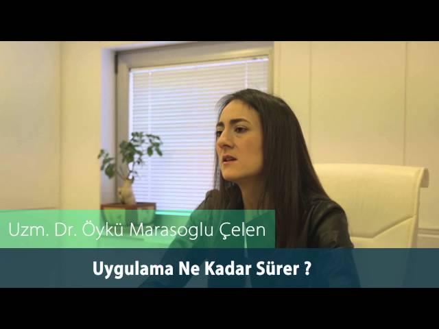 Dr. Öykü Maraşoğlu Çelen - Botoks Uygulaması Ne Kadar Sürer ?