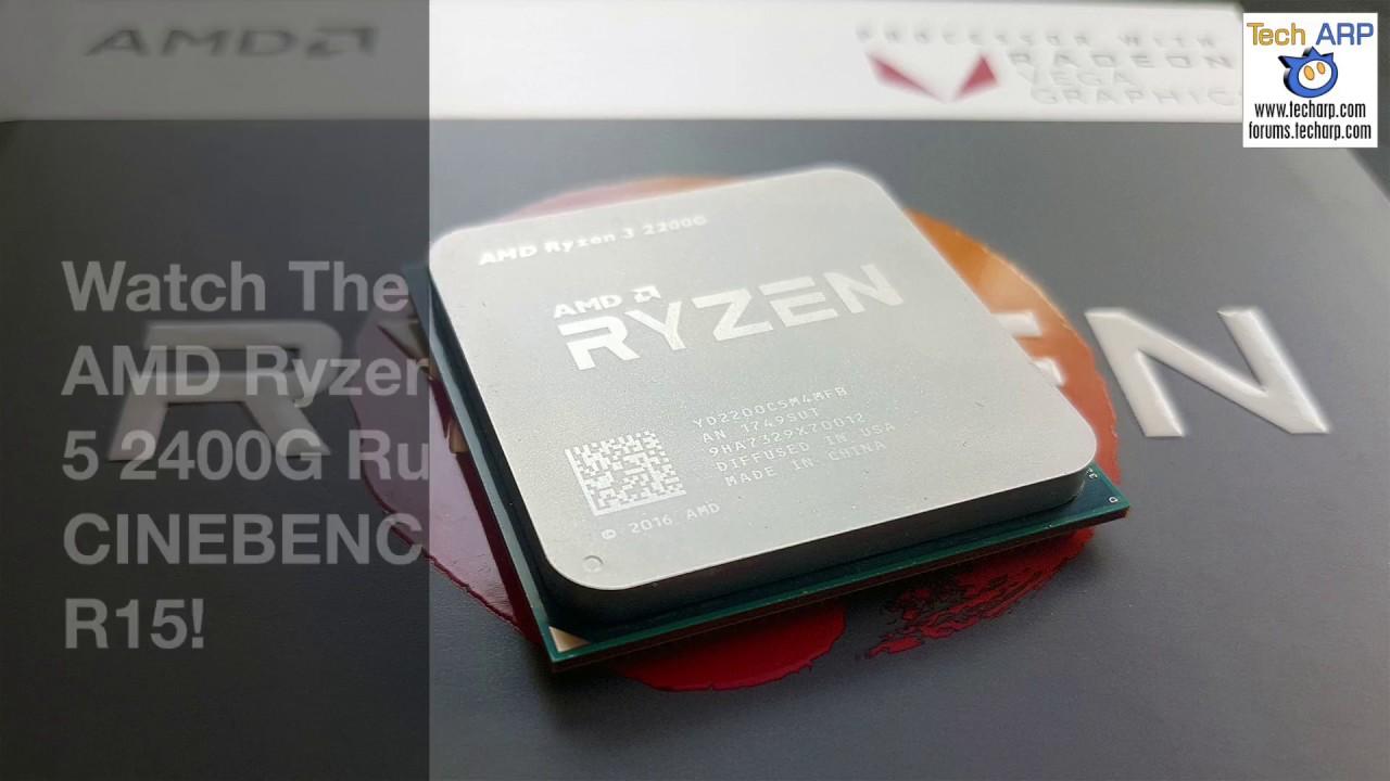 AMD Ryzen 3 2200G With Radeon Vega 8 Graphics Review | 3D
