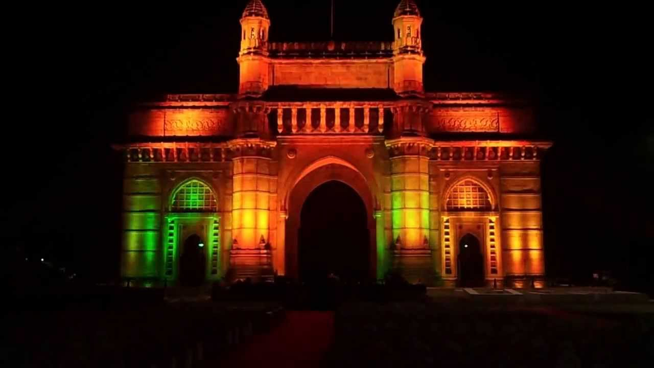 Gateway Of India Color Kinetics Led Light And Sound Show
