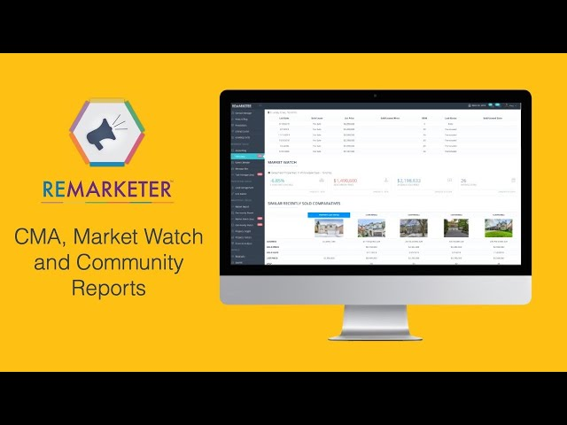 REMARKETER Training - Market Watch and Community Reports