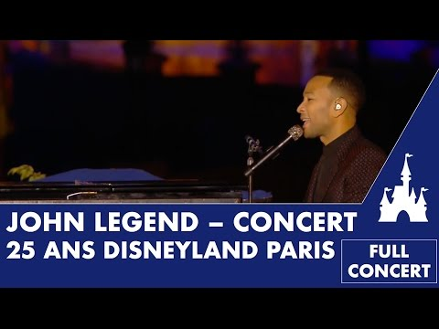 John Legend at Disneyland Paris (FULL CONCERT)