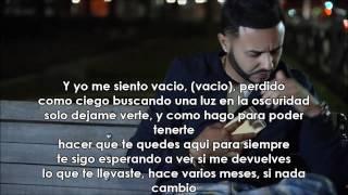 Si No Te Tengo - Tony Dize Feat. Farruko - VIDEO CON LETRA