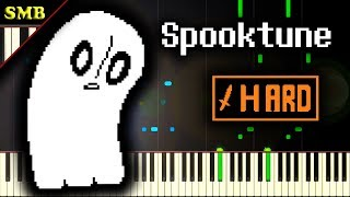 UNDERTALE - SPOOKTUNE - Piano Tutorial