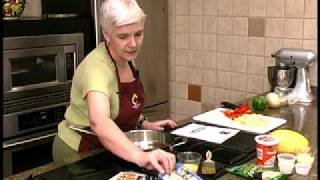 Vegetable Cheese Strudel Part 1