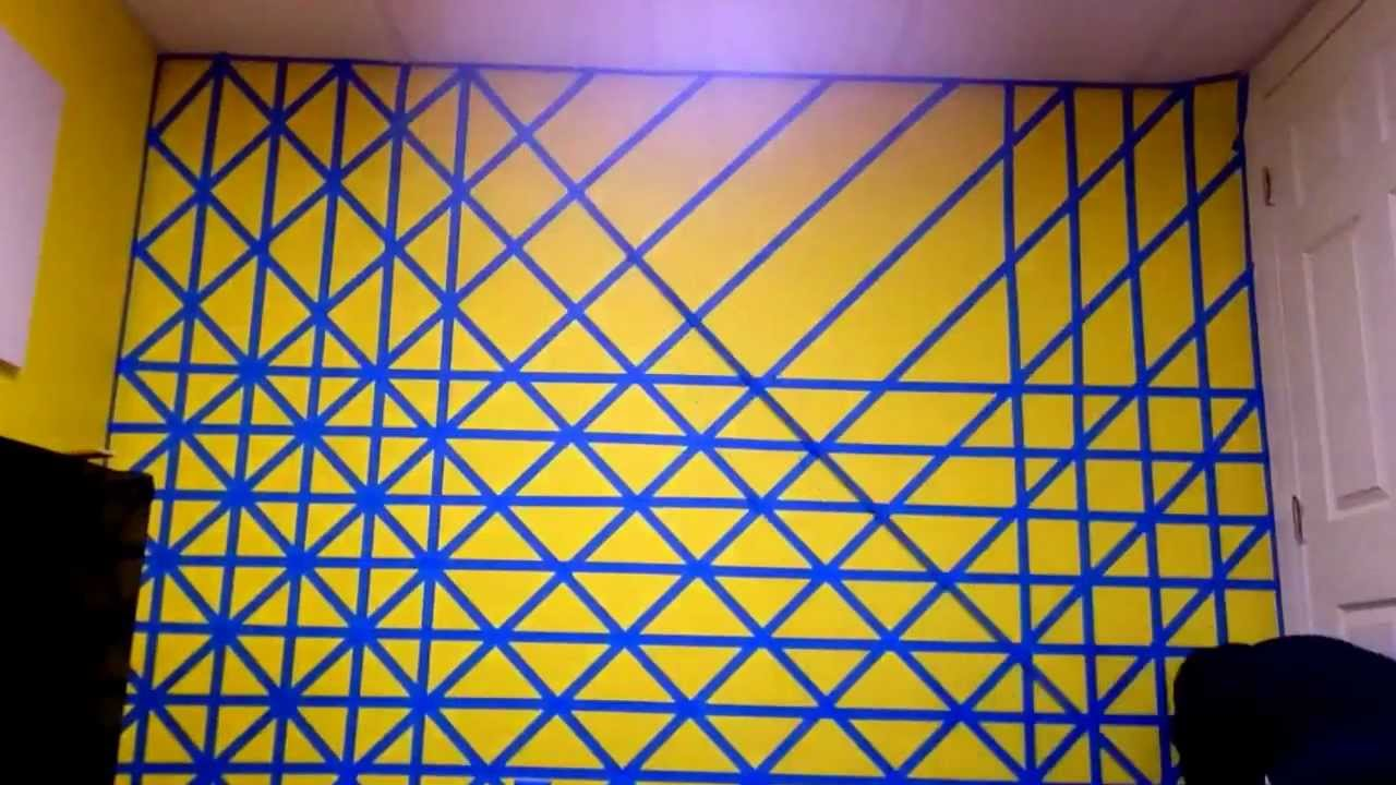 3D cubes - wall painting time lapse - YouTube