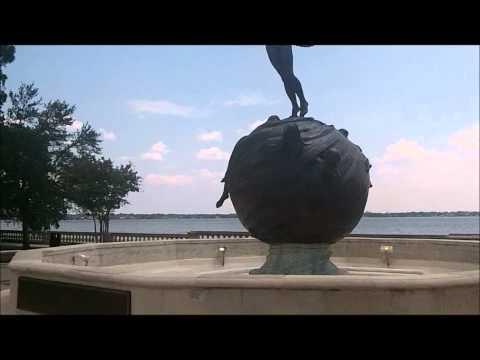 Memorial Park in Riverside-Jacksonville Florida, August 12, 2011