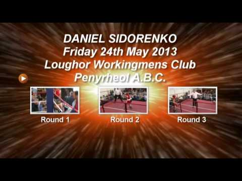 Daniel Sidorenko & Callum Cullen first boxing fight.