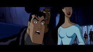 Justice League VS Hawkgirl : Hawkgirl confronts Justice League [HD]