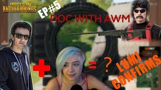 PUBG | LURN & J9 dating? DOC with GOLDEN *AWM*|Best Funny PUBG moments EP#5