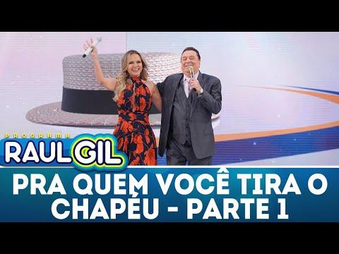 Pra Quem Você Tira o Chapéu? com Eliana - Parte 1 - 07/07/18 | Programa Raul Gil