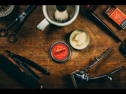 Men' Hair 2018 l Old School Grease l Gunther's Pomade Review