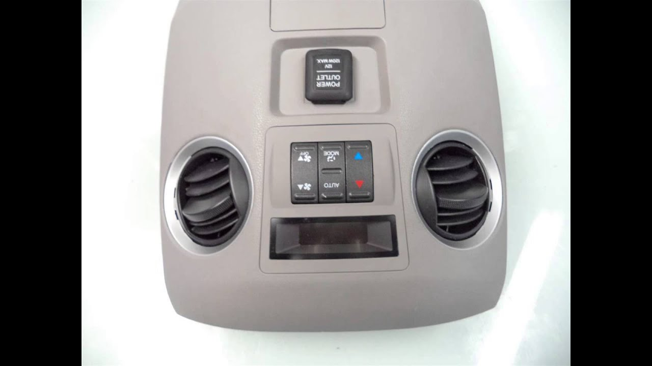 Buy Honda Accord Heater Control Panel Parts Us Heater Control Panel